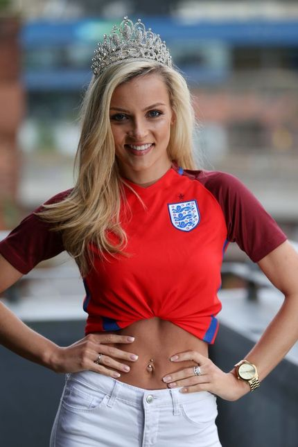Miss Newcastle Vicky Turner shines as she is pipped to the post in Miss England final