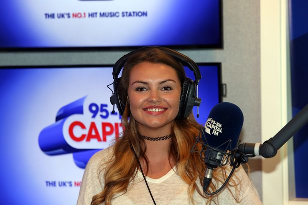 ​Capital North East's new breakfast presenter and ex Miss Newcastle Hannah Gray hits the airwaves