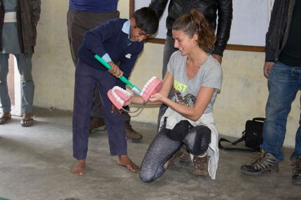 Nepal charity trip changed my life